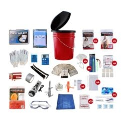 Bucket Survival Kit 4 Person