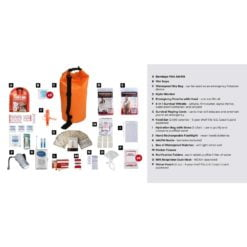 Survival Kit 1 Person Drybag Description