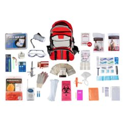 Elite Survival BackPack 1 Person Red