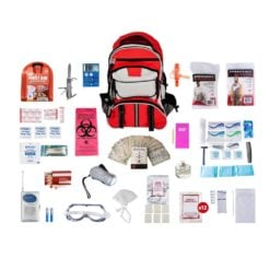 Deluxe Survival Pack Red