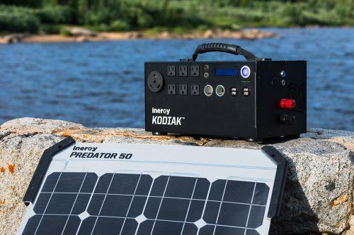 Inergy Solar Kodiak Kits Canada Armory Survival