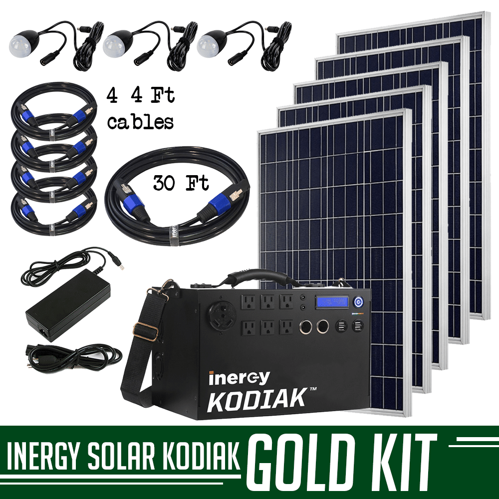 5f951e28dc Inergy Kodiak Gold Solar Combo Kit