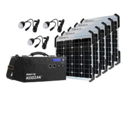 Inergy Solar Preadator 50 Gold Kit