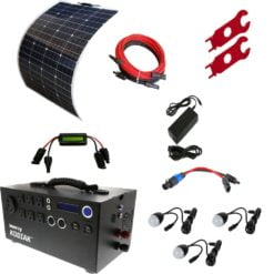 Flexible Solar Panels Kodiak Bronze Kit
