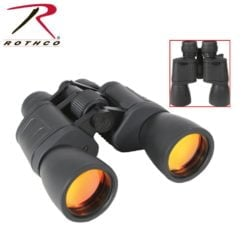 Rothco 8-24 x 50MM Zoom Binocular – Black