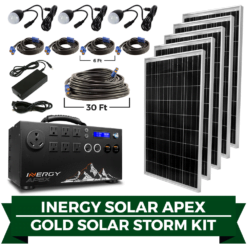 Apex gold solar storm kit