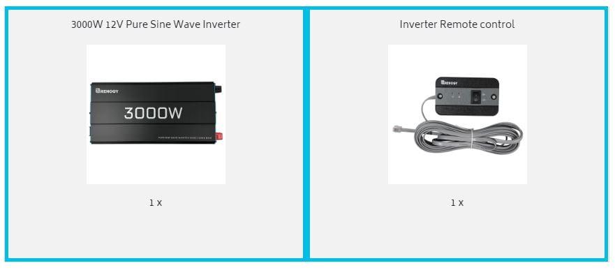 Renogy 3000W Inverter Contents