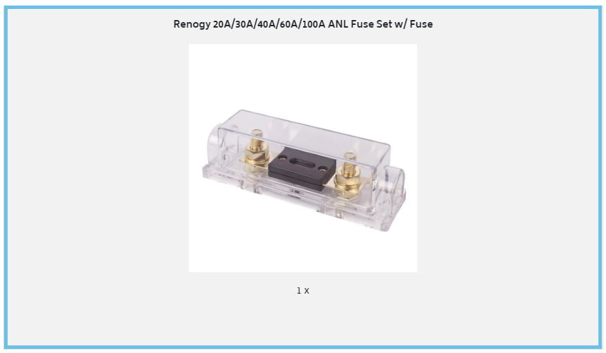 ANL Fuse Contents