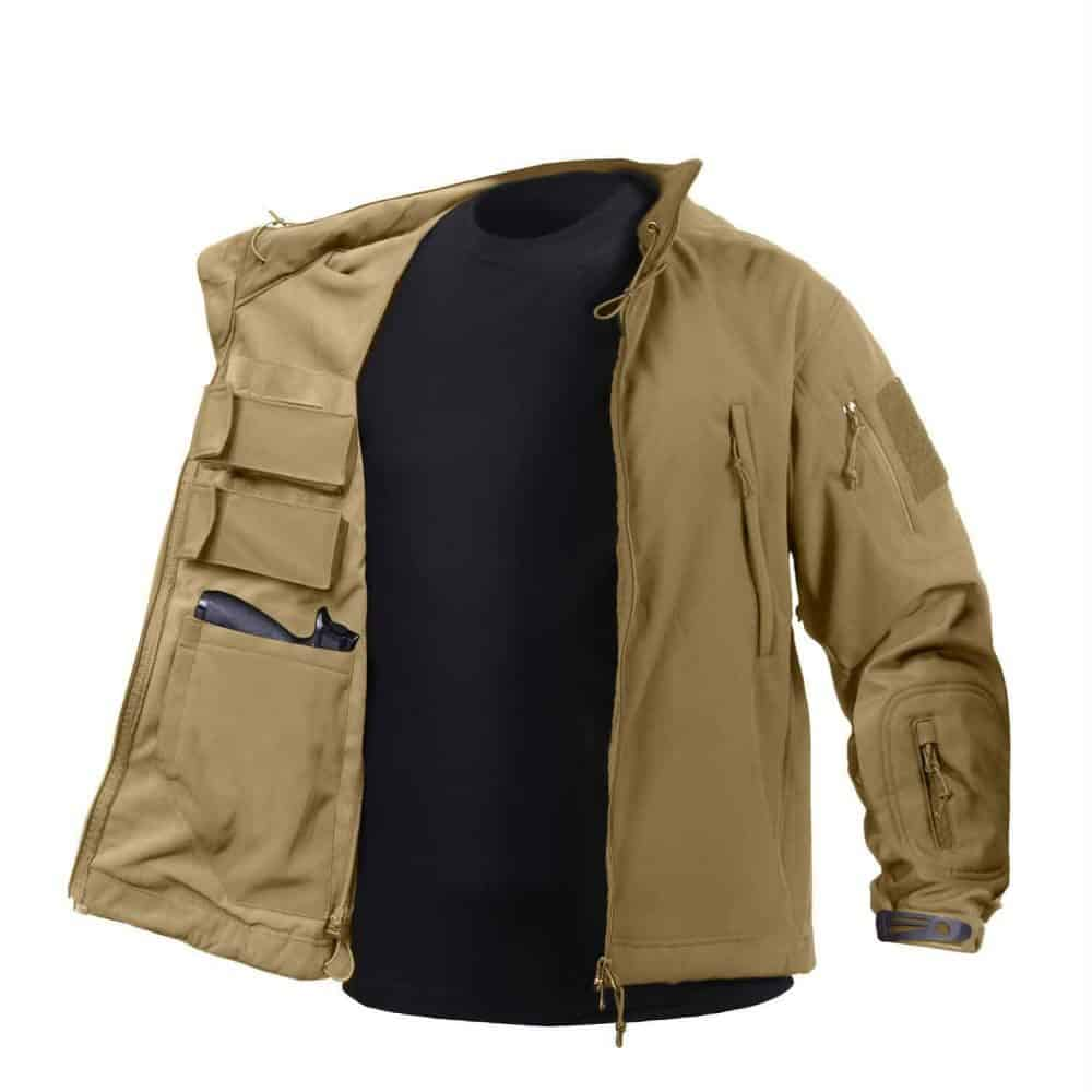 Concealed Carry Jacket Coyote
