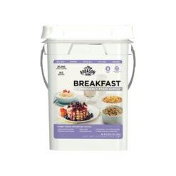 Emergency Food Supply Breakfast Pail