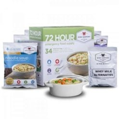 72 Hour Emergency Food and Drink Supply