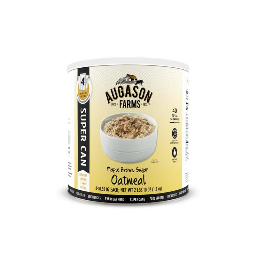 Maple Brown Sugar Oatmeal Super Can
