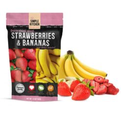 Freeze-Dried Strawberries & Bananas - 6 Pack