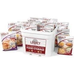 120 Serving Breakfast, Lunch, and Dinner Bucket - 31 lbs