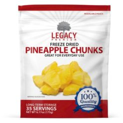 Bulk Freeze Dried Pineapple Chunks