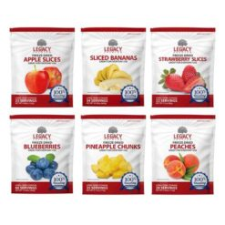 Freeze Dried Fruit Assortment Variety Pack