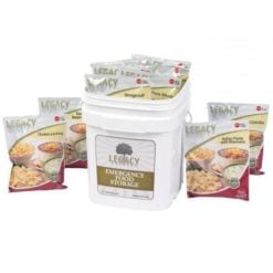 60 Serving Breakfast, Lunch, and Dinner Bucket - 18 lbs