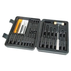 Wheeler Master Roll Pin Punch Set