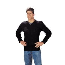 GI Wool V Neck Sweater