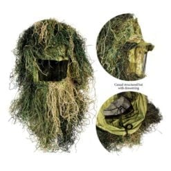 Red Rock 5Piece Youth Ghillie Suit Woodland Youth Size 14-16 Head