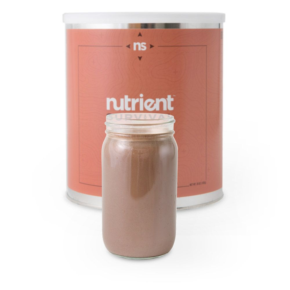 Nutrient Survival Creamy Chocolate Nutrient Shake